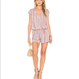 BCBGeneration Wrap Romper with Pockets!